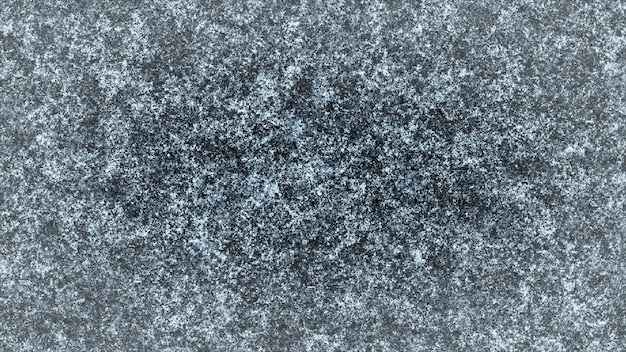 Frosty pattern on a black background