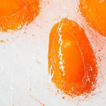 Frozen loquats