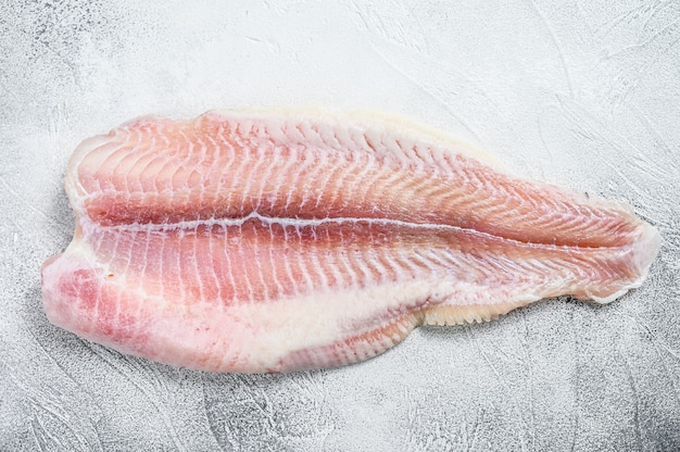 Frozen pangasius fish fillet