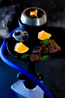 Fruit and chocolate aroma hookah