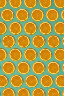 과일 감귤 원활한 패턴