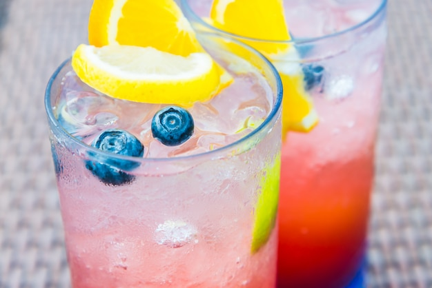 Fruit mocktail