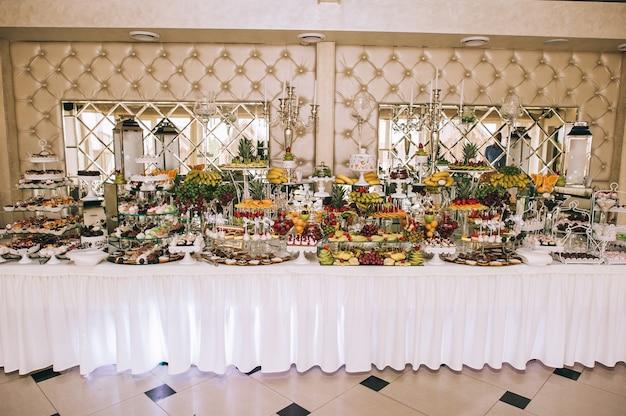 結婚式でのフルーツレセプション