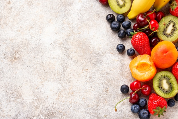 Fruits and berries summer