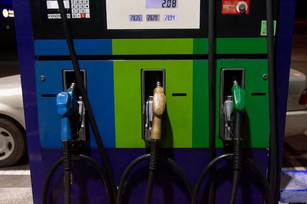 Fuel gasoline dispenser, gas station