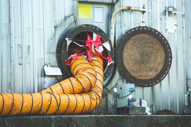 燃料タンクのオイルエリアは、スペースの安全ブロワーの新鮮な空気を制限します