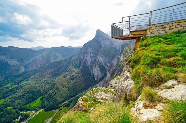 Fuente de mountains in cantabria spain
