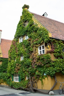 The fuggerei in augsburg, bavaria, is the world's oldest social housing complex still in use.