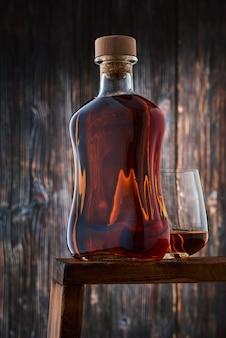 A full bottle of whiskey
