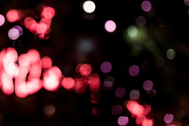 Full frame of art deco style bokeh