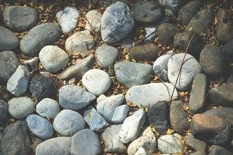 Full Frame Background of Pebble Stones