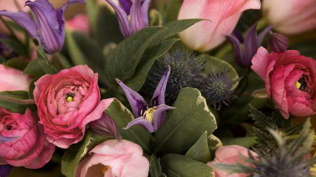 Full frame of flower bouquet