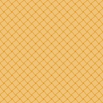 Полный кадр иллюстрированный фон коричневый бесшовные тканые ротанга