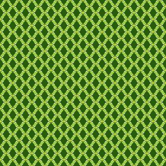 Полный кадр иллюстрированный бесшовный фон из растений зеленого плюща на стене