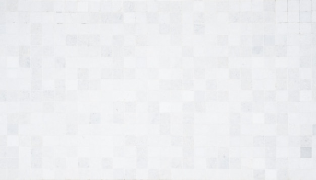 Полный кадр мозаики белые и серые стены узор фона