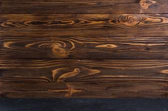 木製の織り目加工の背景のフルフレーム