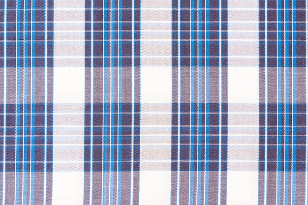 Full frame of seamless gingham pattern