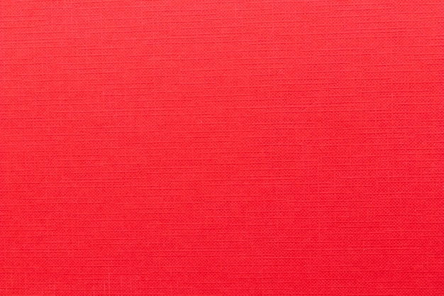 Full frame shot of blank red book cover
