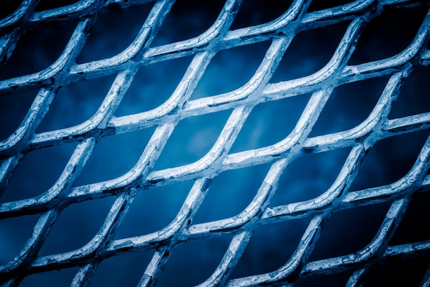 Full frame shot of mesh wire fence