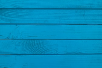 Full frame shot of a blue wooden plank