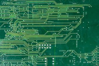 Full frame shot of computer circuit board