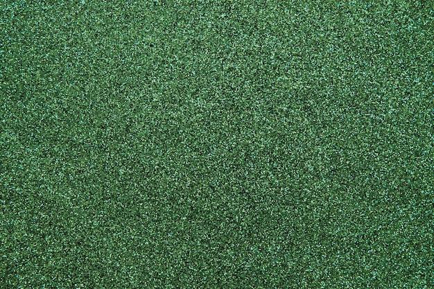녹색 양탄자의 풀 프레임 샷
