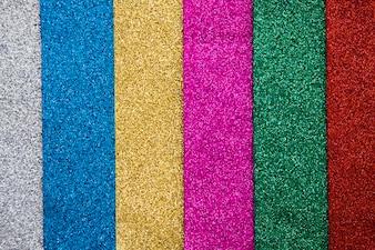 Full frame shot of various multi colored carpets