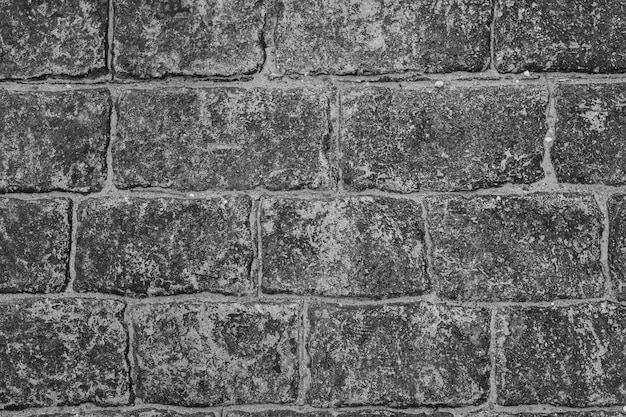 Full frame of stone wall background
