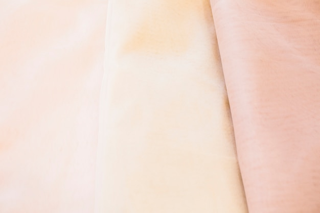 滑らかなテキスタイルのフルフレームビュー