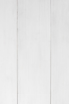 Full frame of white wooden plank