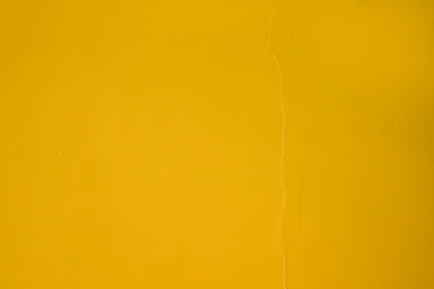 Full frame of yellow textured wall backdrop