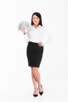 Full length portrait of a confident asian businesswoman