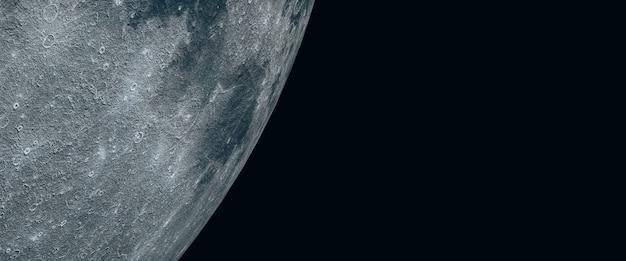 Full moon. beautiful texture of the moon