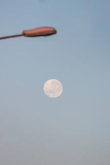 Full moon in rio de janeiro, brazil.