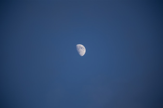 Not a full moon in the sky