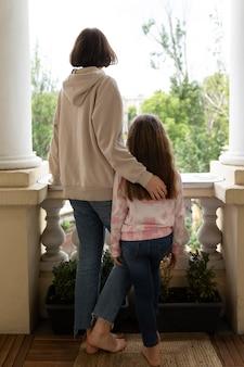 풀샷 소녀와 어머니
