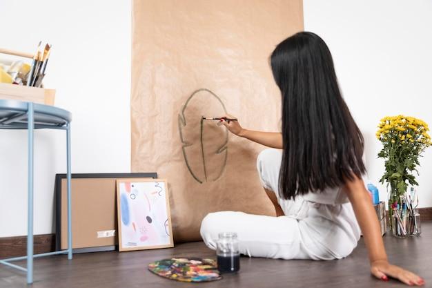 Полная креативность женщины