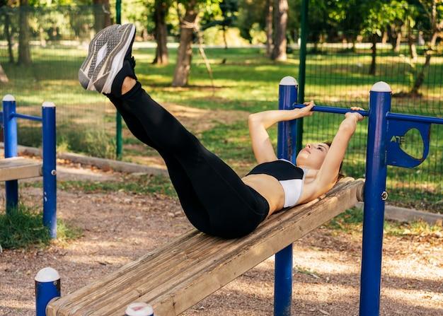 Полная женщина упражнения