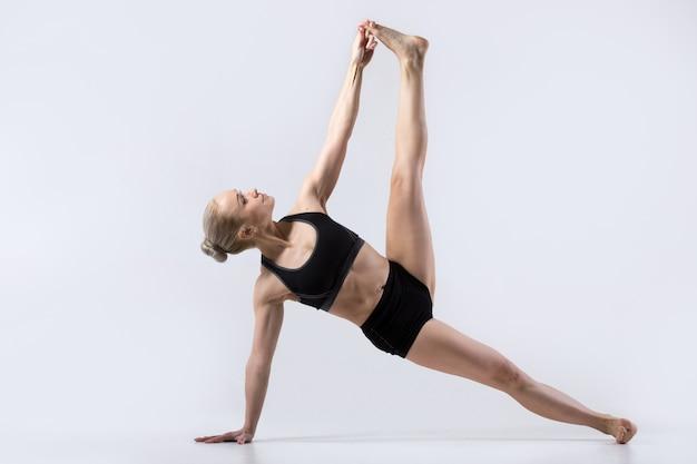 Full version of vasisthasana pose