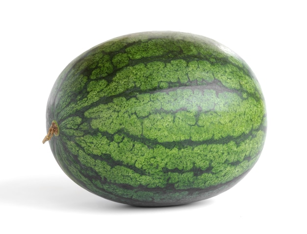 Full watermelon isolate on white background