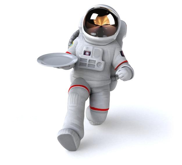 재미있는 우주 비행사 그림