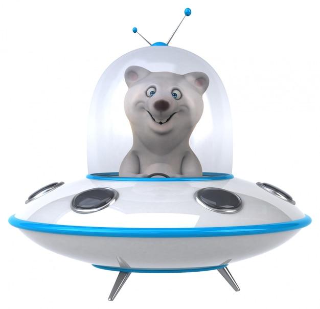 Fun bear animation
