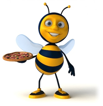 楽しい蜂アニメーション