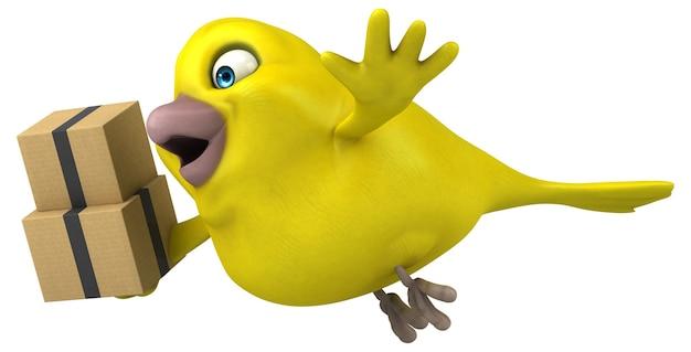 Забавная птица
