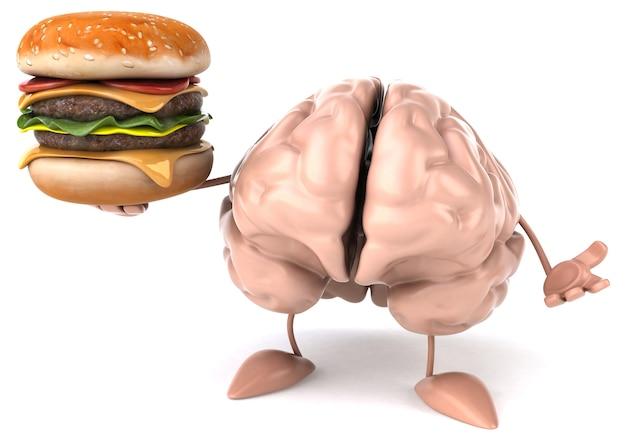 Fun brain  3d character
