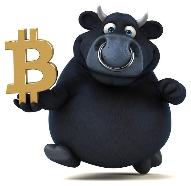 Fun bull - 3d character