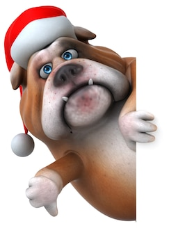 Fun bulldog animation