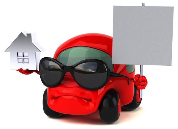 Fun car - 3d character