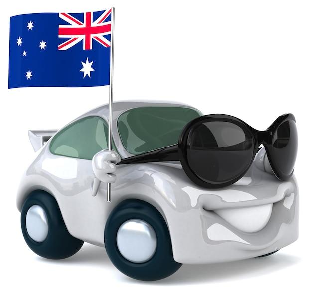 Fun car animation