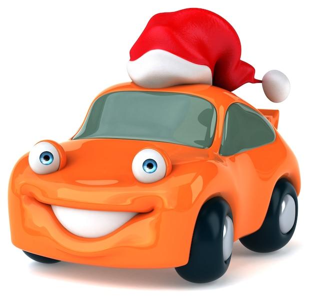 Веселая автомобильная анимация